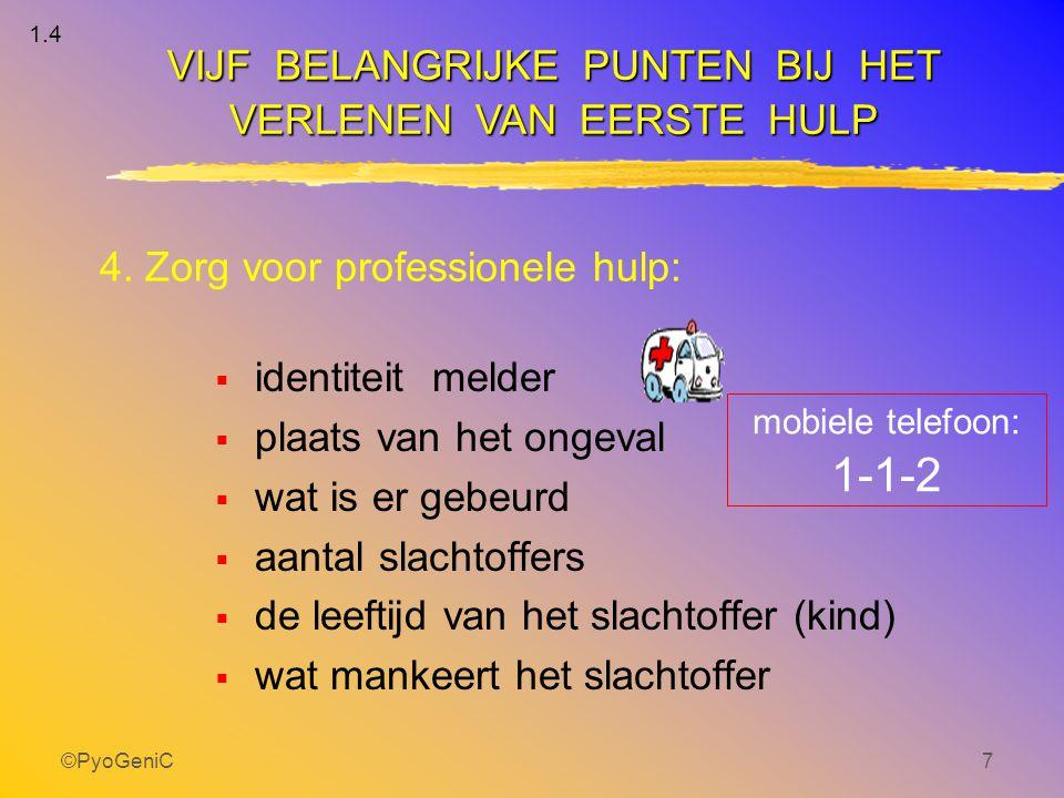 4. Zorg voor professionele hulp: