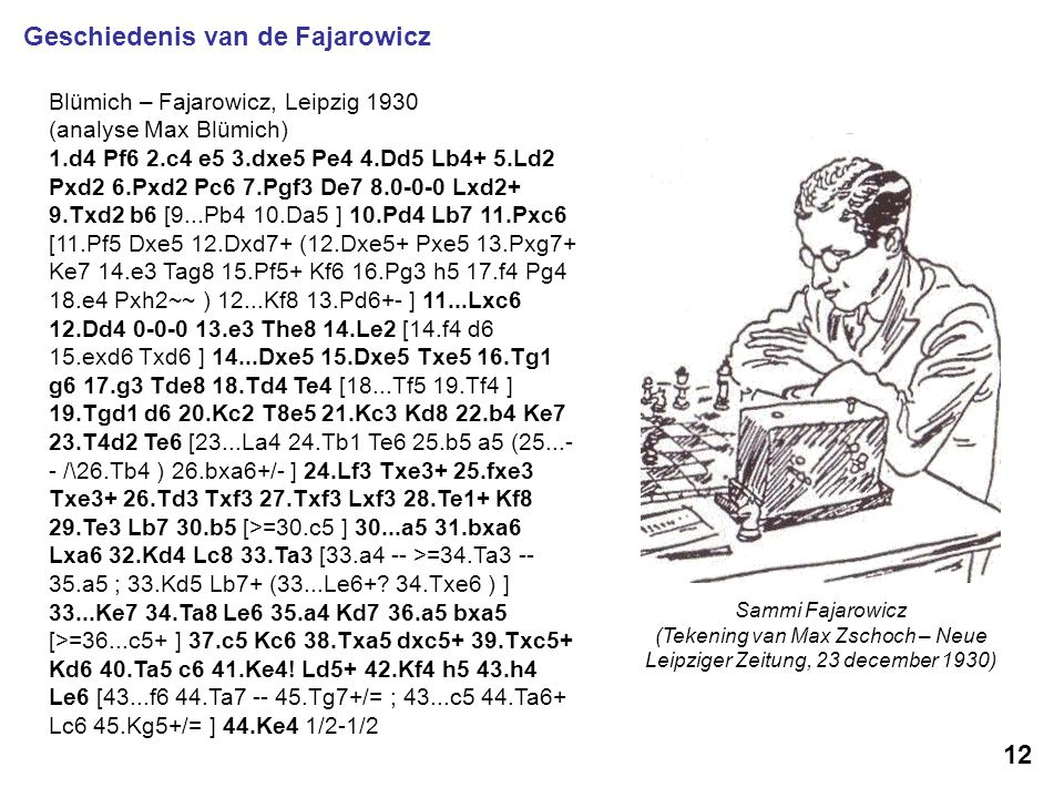 (Tekening van Max Zschoch – Neue Leipziger Zeitung, 23 december 1930)