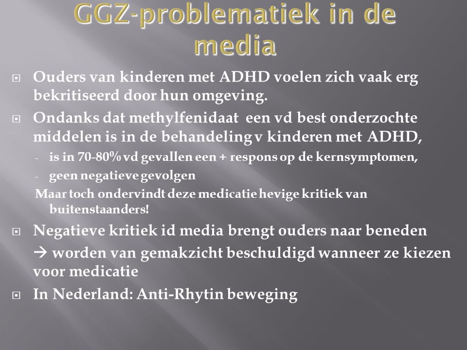 GGZ-problematiek in de media
