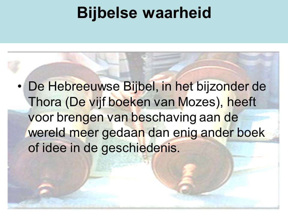 Bijbelse waarheid