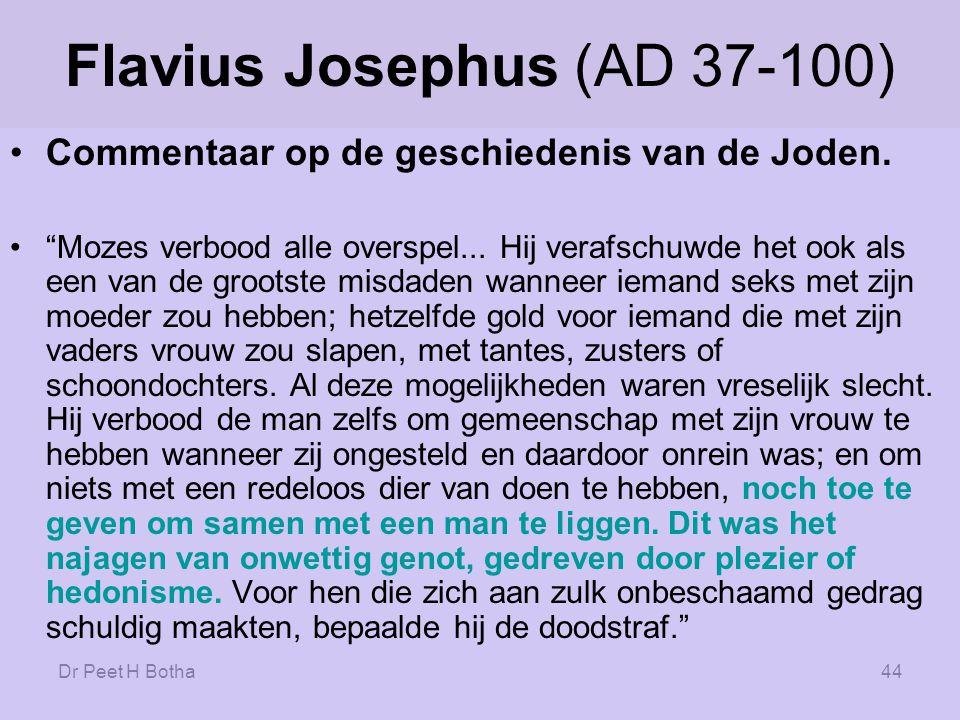 Flavius Josephus (AD 37-100)