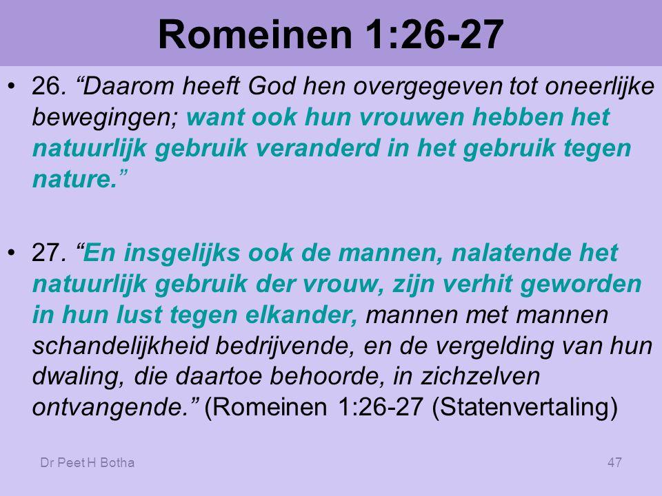 Romeinen 1:26-27