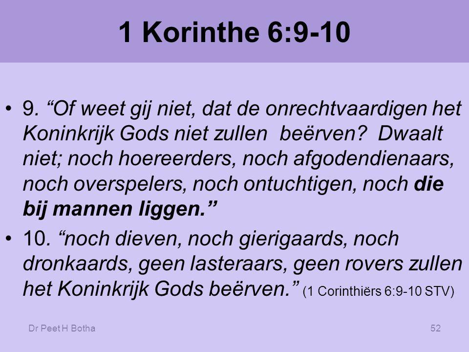 1 Korinthe 6:9-10