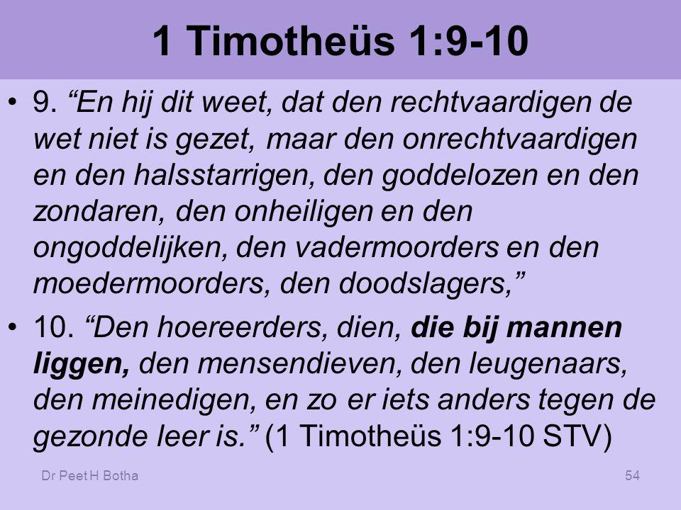 1 Timotheüs 1:9-10