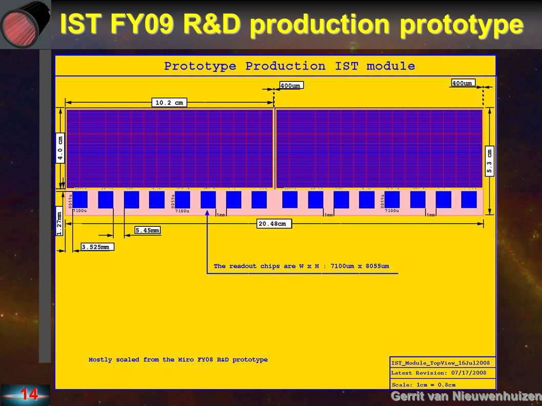 IST FY09 R&D production prototype
