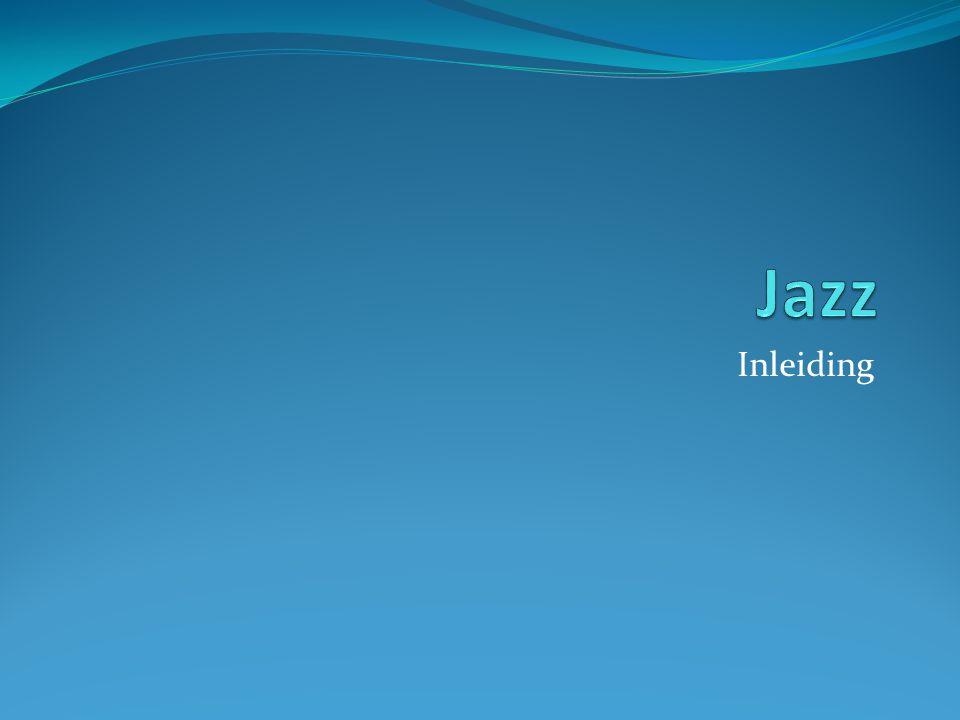 Jazz Inleiding