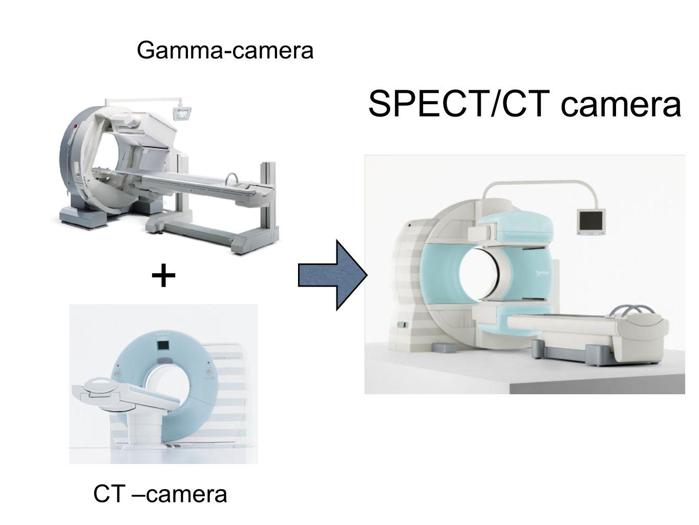+ SPECT/CT camera Gamma-camera CT –camera