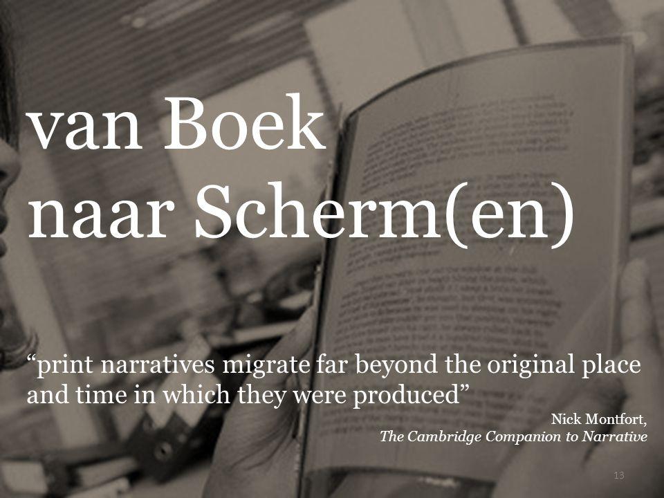 van Boek naar Scherm(en)