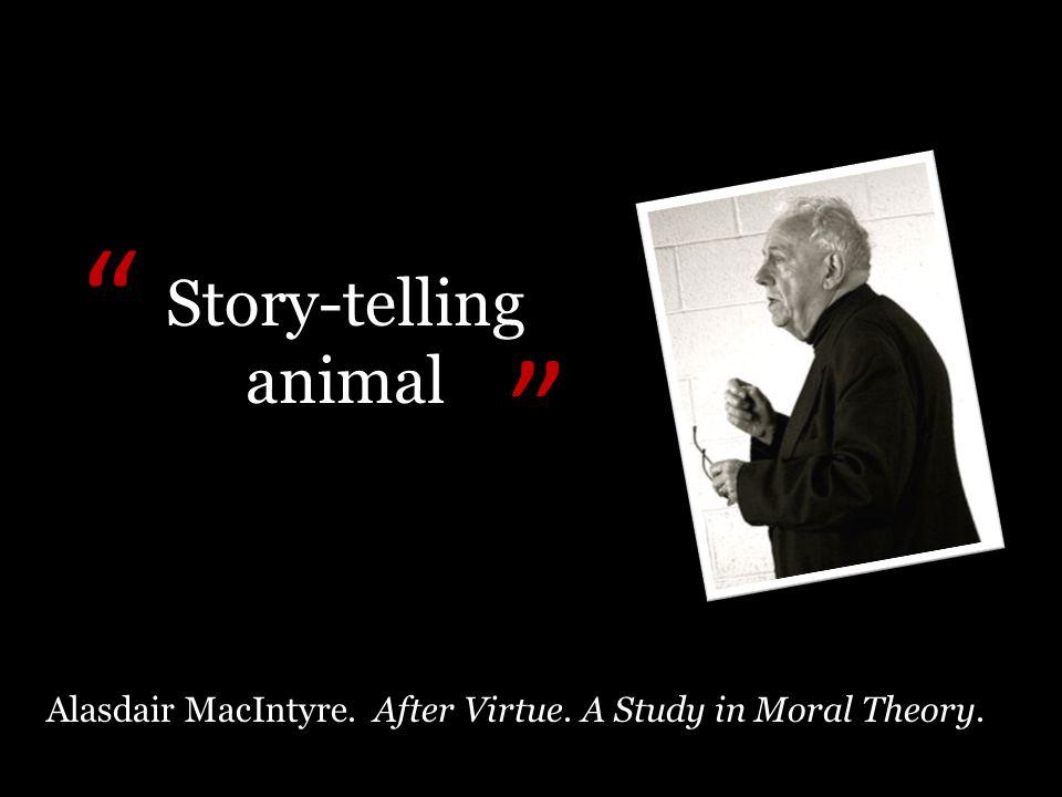 Story-telling animal