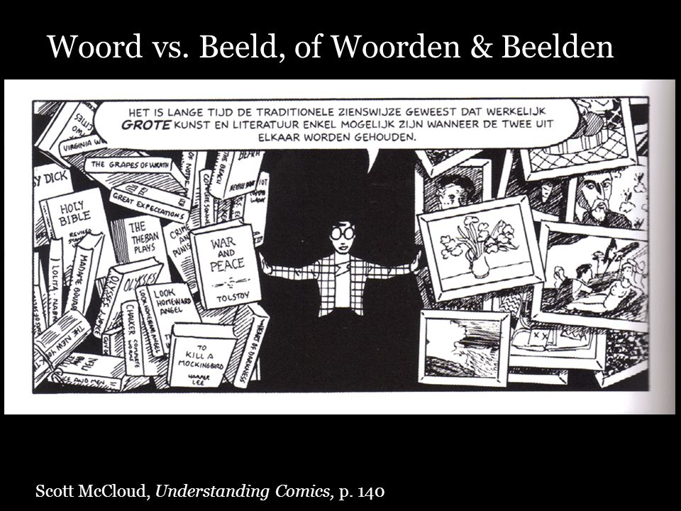 Woord vs. Beeld, of Woorden & Beelden