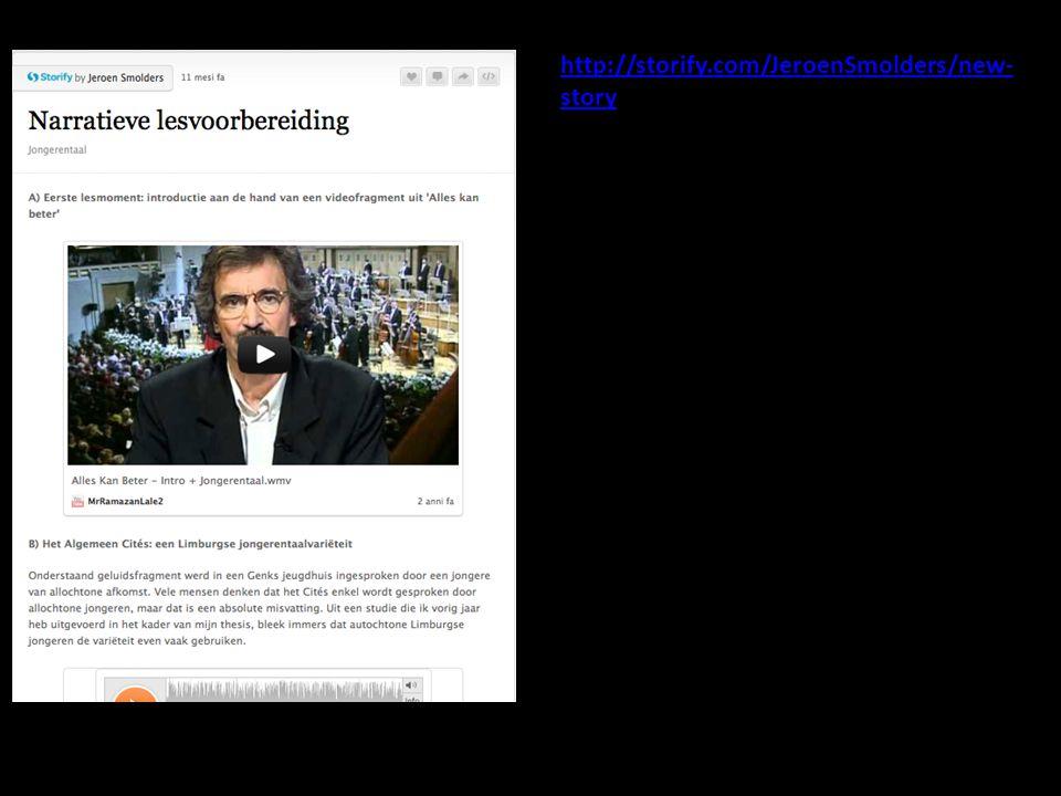 http://storify.com/JeroenSmolders/new-story