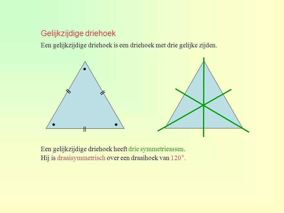 Gelijkzijdige driehoek