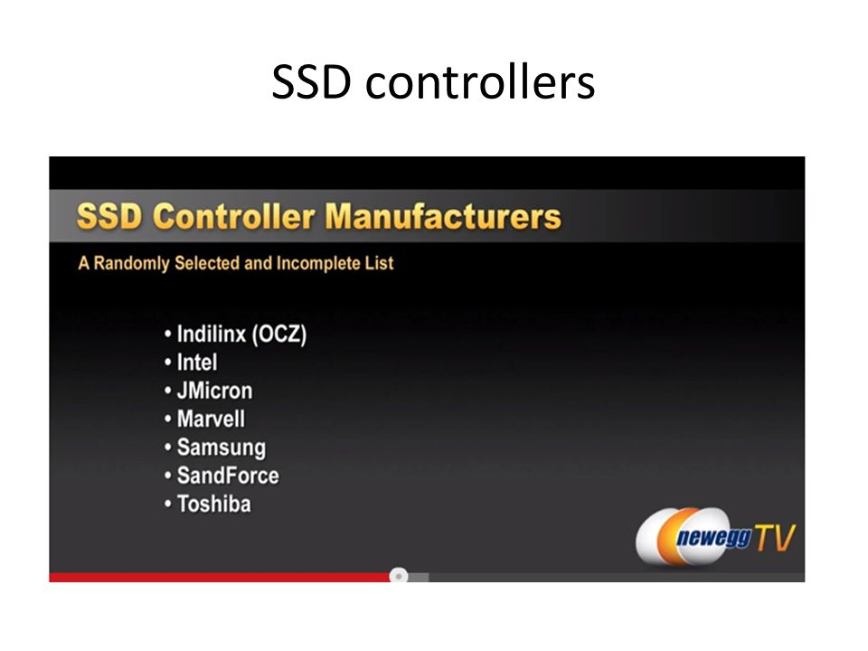 SSD controllers