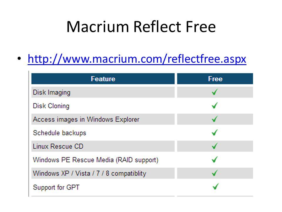 Macrium Reflect Free http://www.macrium.com/reflectfree.aspx