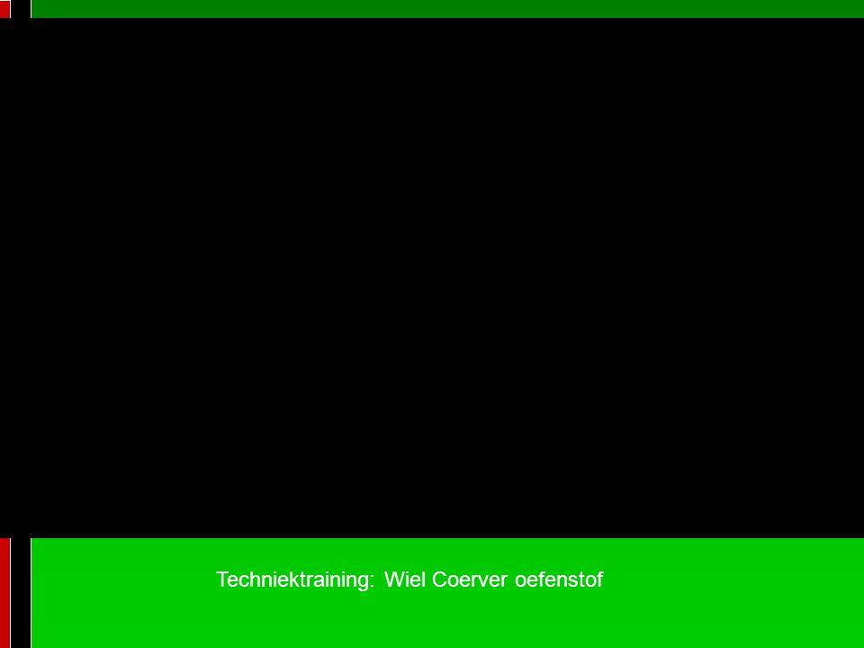 Techniektraining: Wiel Coerver oefenstof