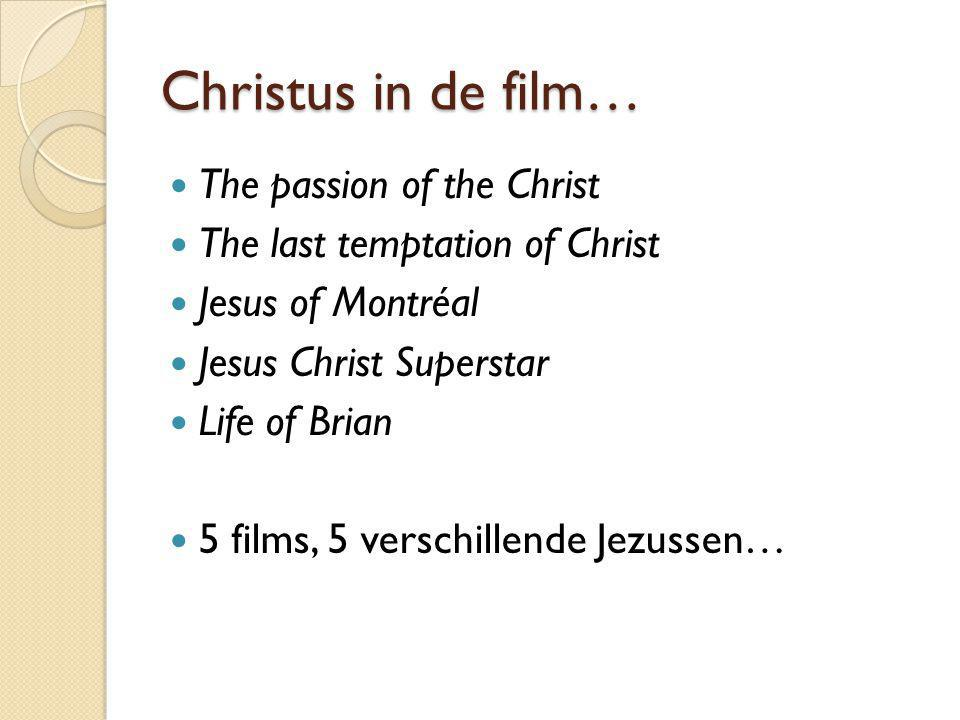 Christus in de film… The passion of the Christ