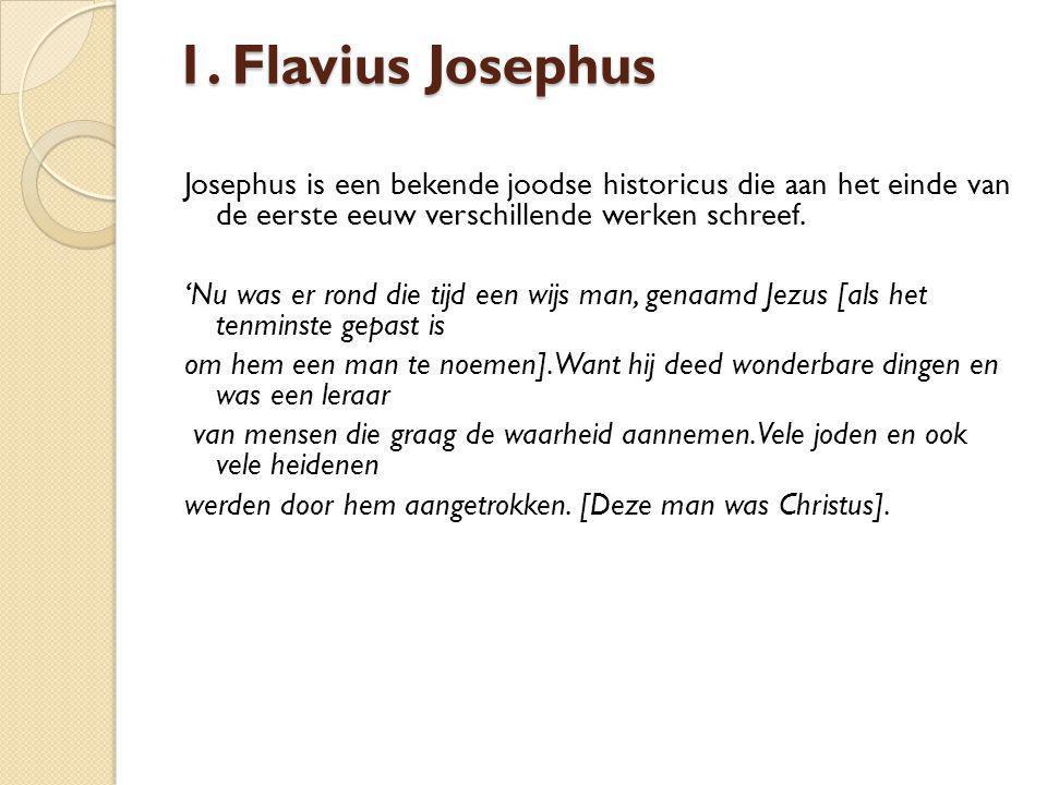 1. Flavius Josephus