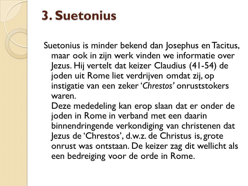 3. Suetonius