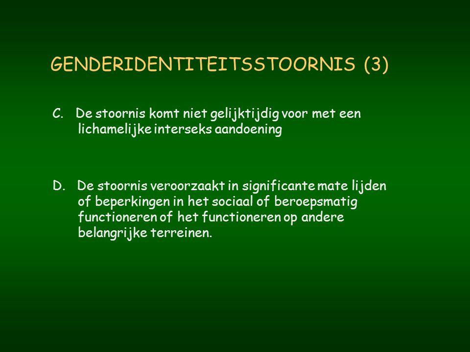 GENDERIDENTITEITSSTOORNIS (3)