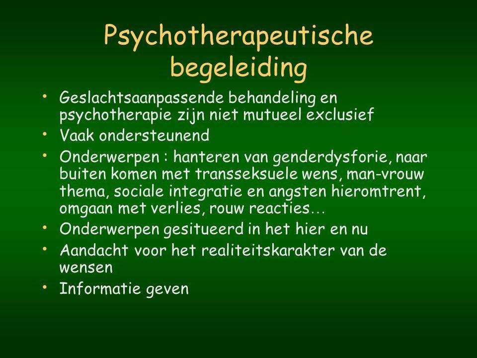Psychotherapeutische begeleiding