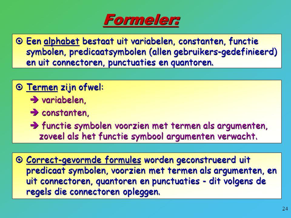Formeler: