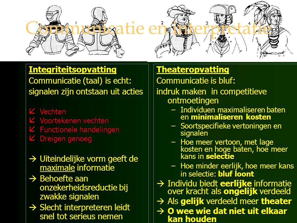 Communicatie en interpretatie
