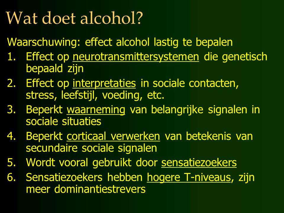 Wat doet alcohol Waarschuwing: effect alcohol lastig te bepalen