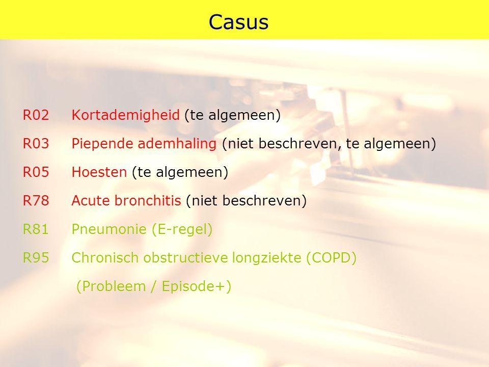Casus R02 Kortademigheid (te algemeen)