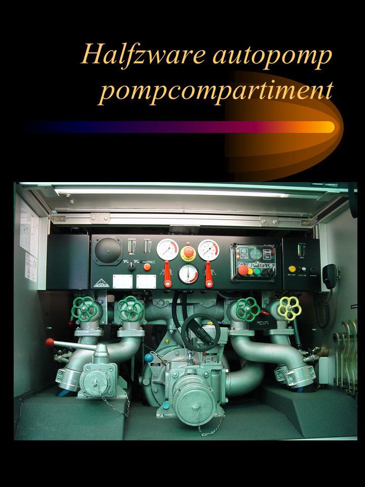 Halfzware autopomp pompcompartiment
