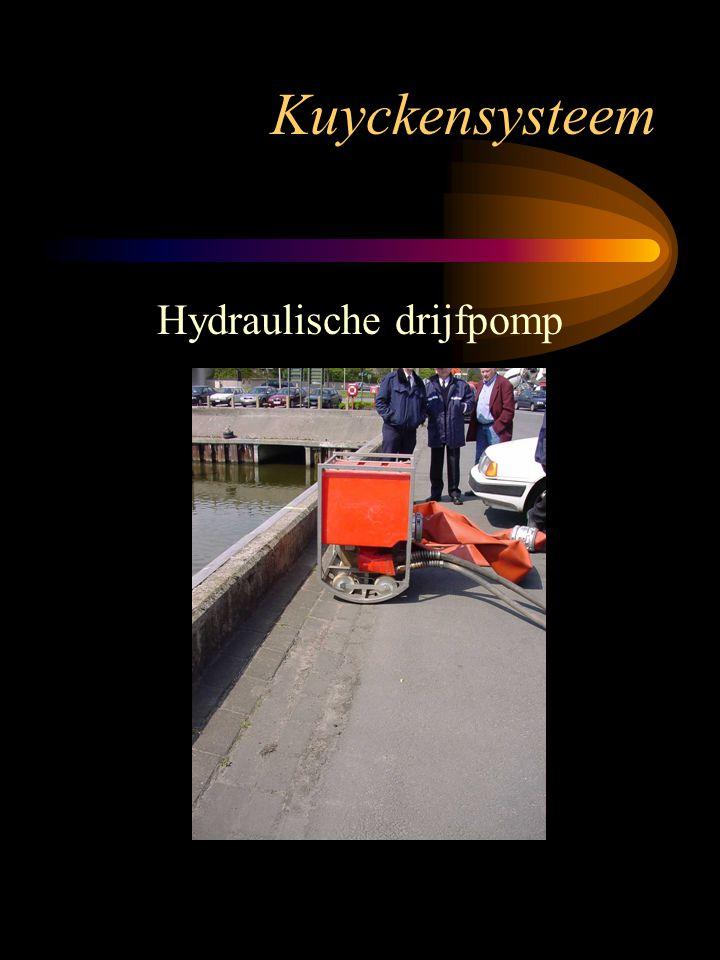 Hydraulische drijfpomp