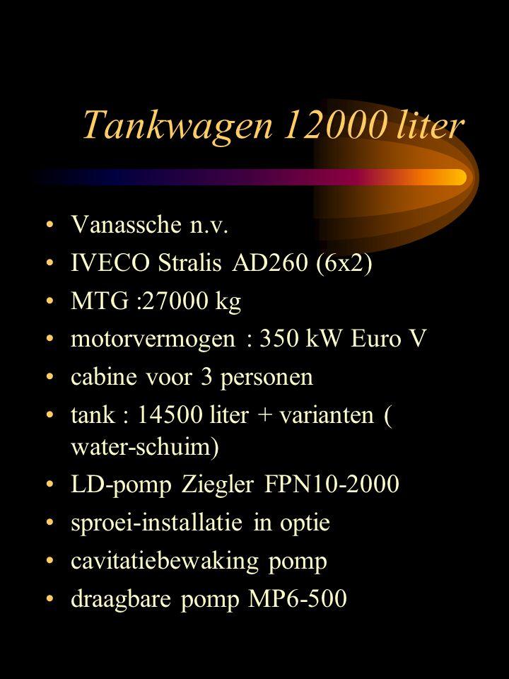 Tankwagen 12000 liter Vanassche n.v. IVECO Stralis AD260 (6x2)