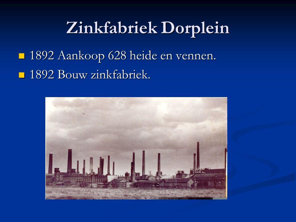 Zinkfabriek Dorplein 1892 Aankoop 628 heide en vennen.