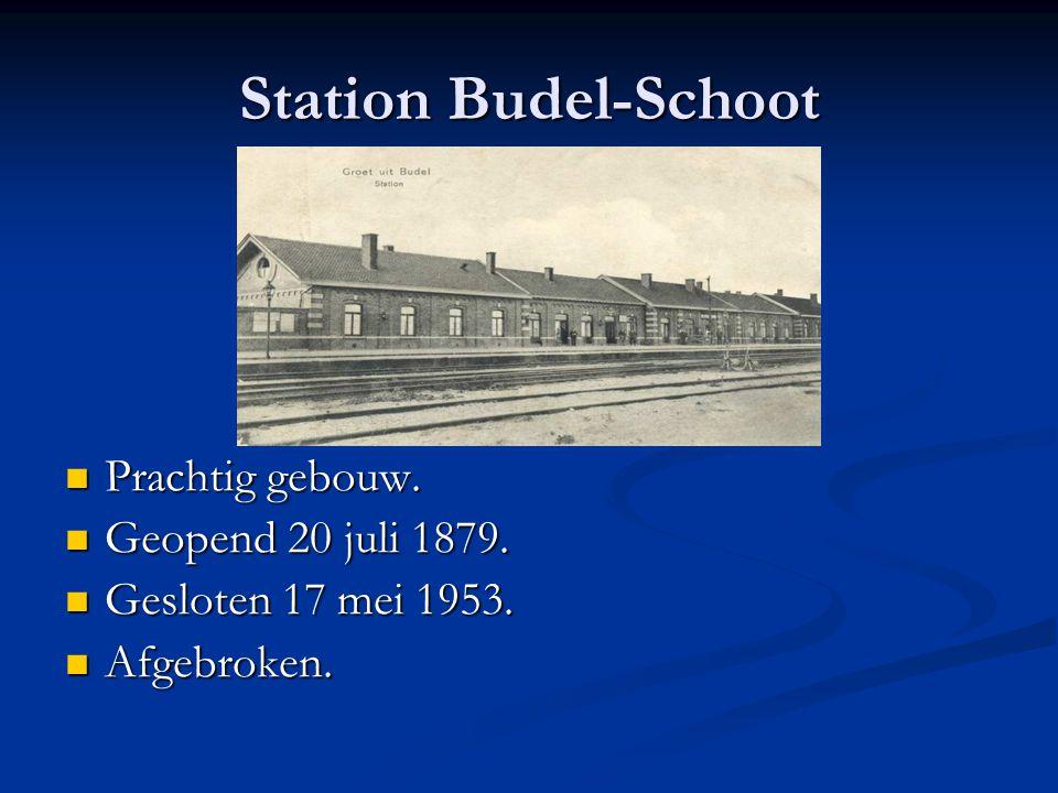 Station Budel-Schoot Prachtig gebouw. Geopend 20 juli 1879.