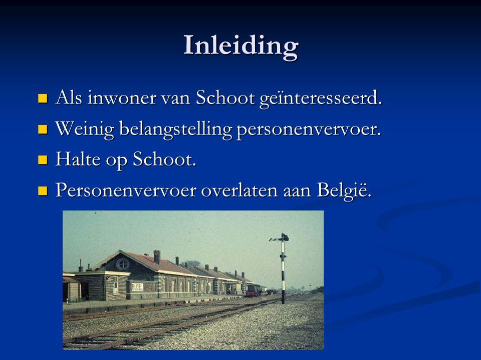Inleiding Als inwoner van Schoot geïnteresseerd.