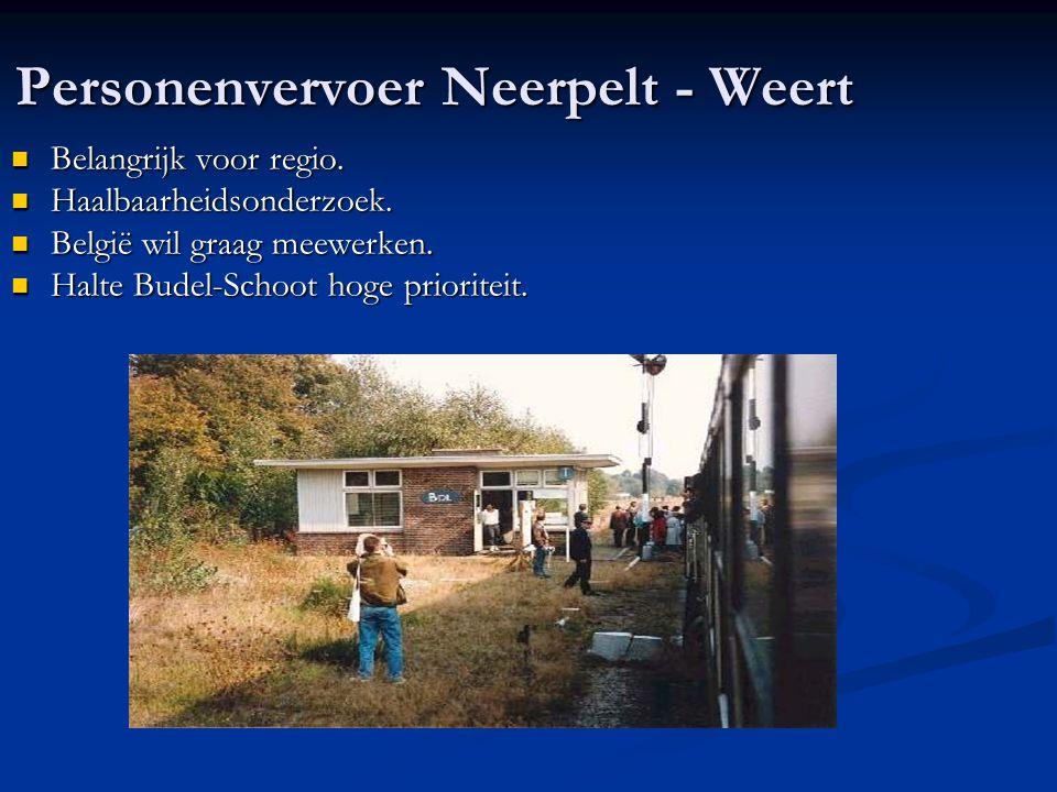 Personenvervoer Neerpelt - Weert