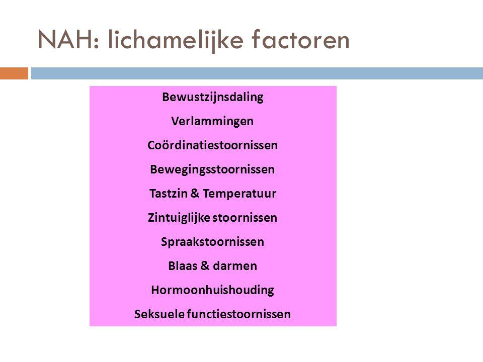 NAH: lichamelijke factoren