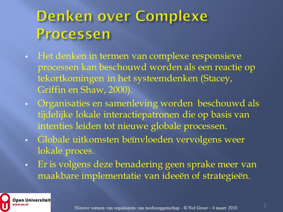 Denken over Complexe Processen