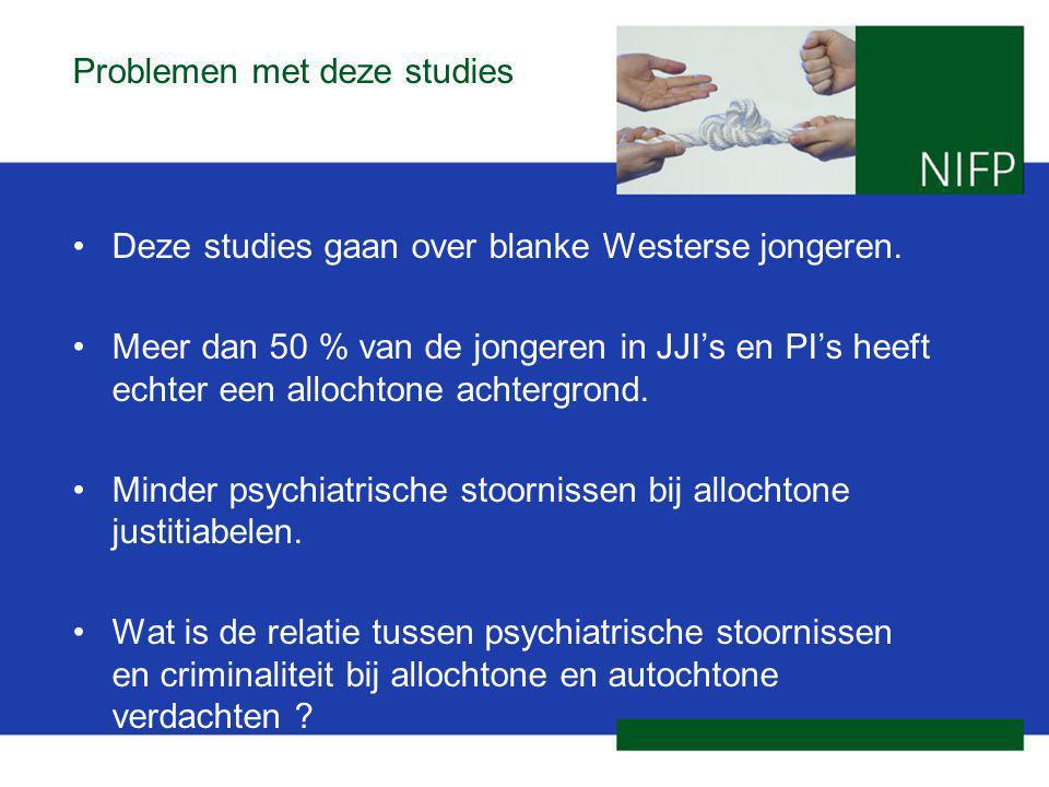 Problemen met deze studies