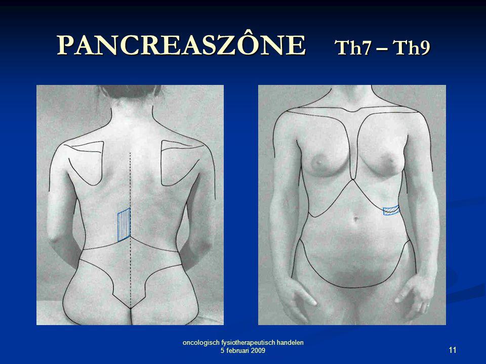 oncologisch fysiotherapeutisch handelen 5 februari 2009
