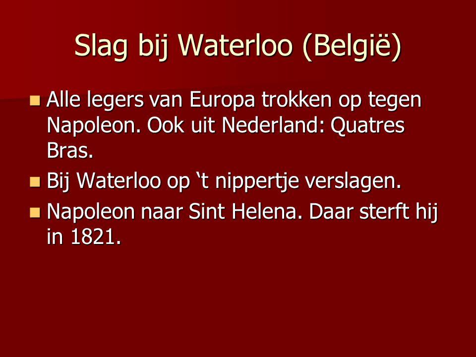 Slag bij Waterloo (België)