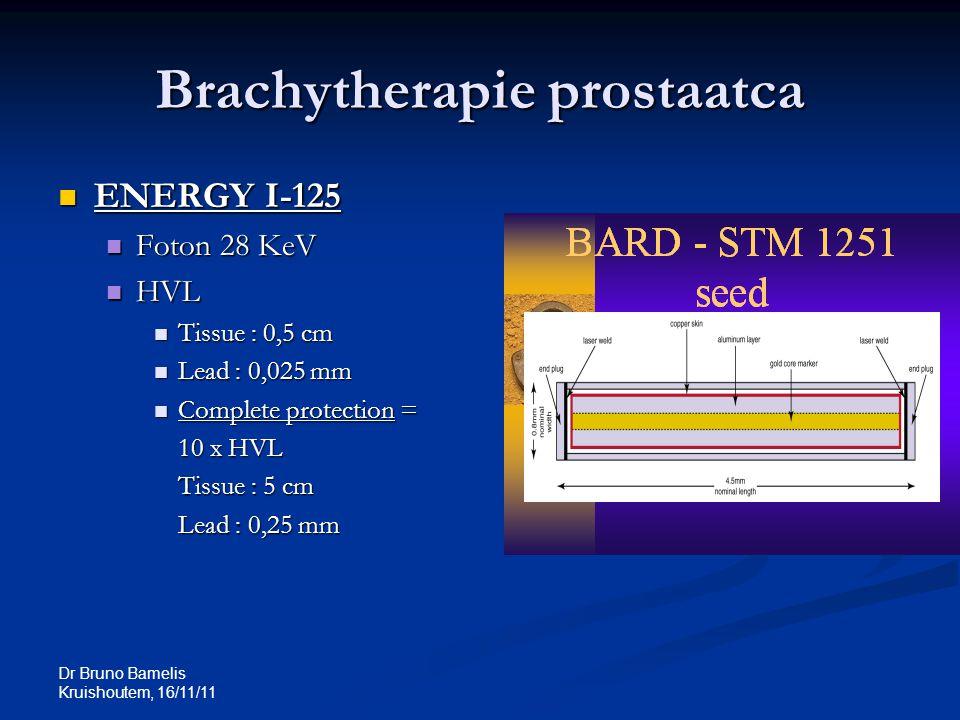 Brachytherapie prostaatca