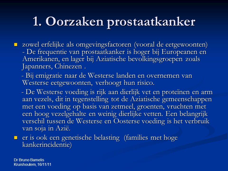 1. Oorzaken prostaatkanker