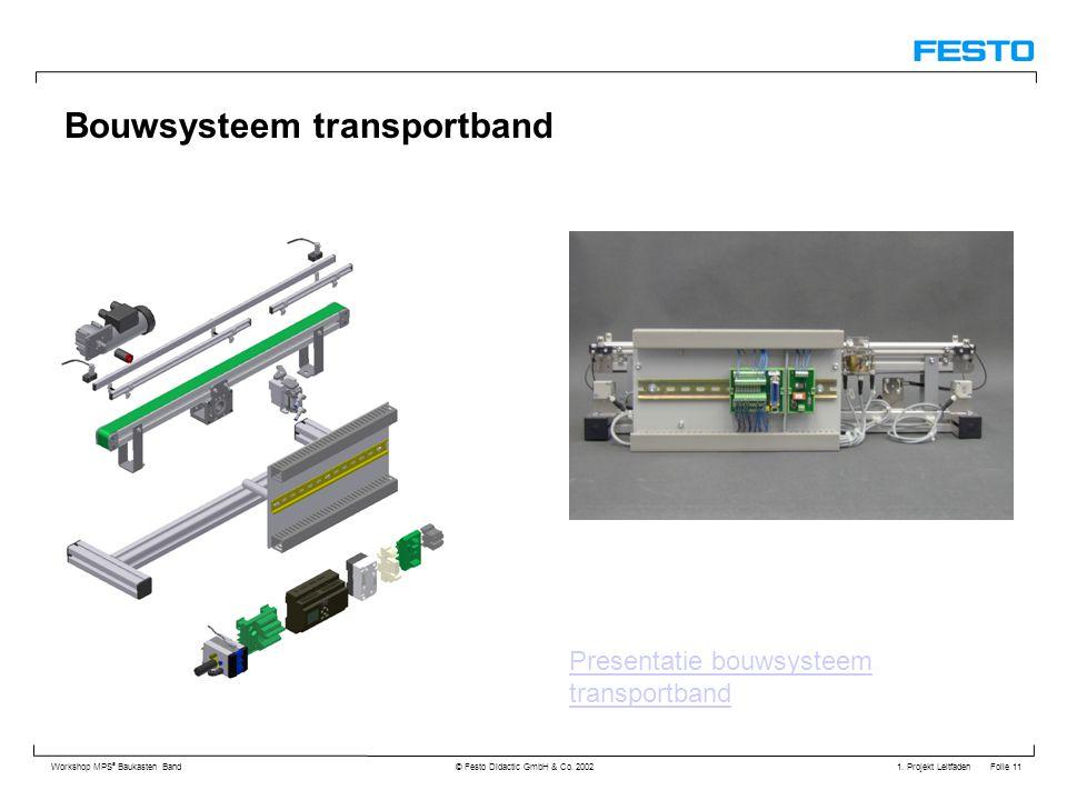 Bouwsysteem transportband