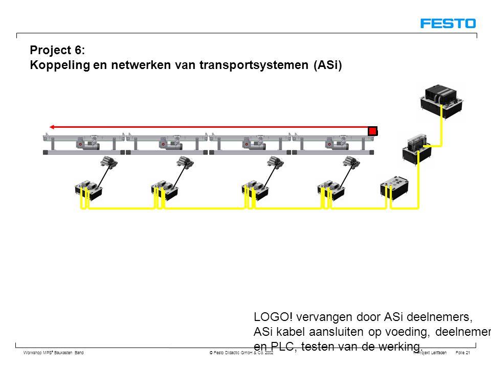 Project 6: Koppeling en netwerken van transportsystemen (ASi)