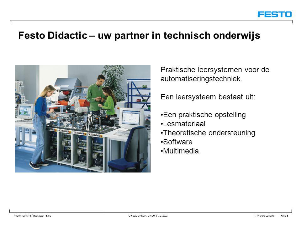 Festo Didactic – uw partner in technisch onderwijs