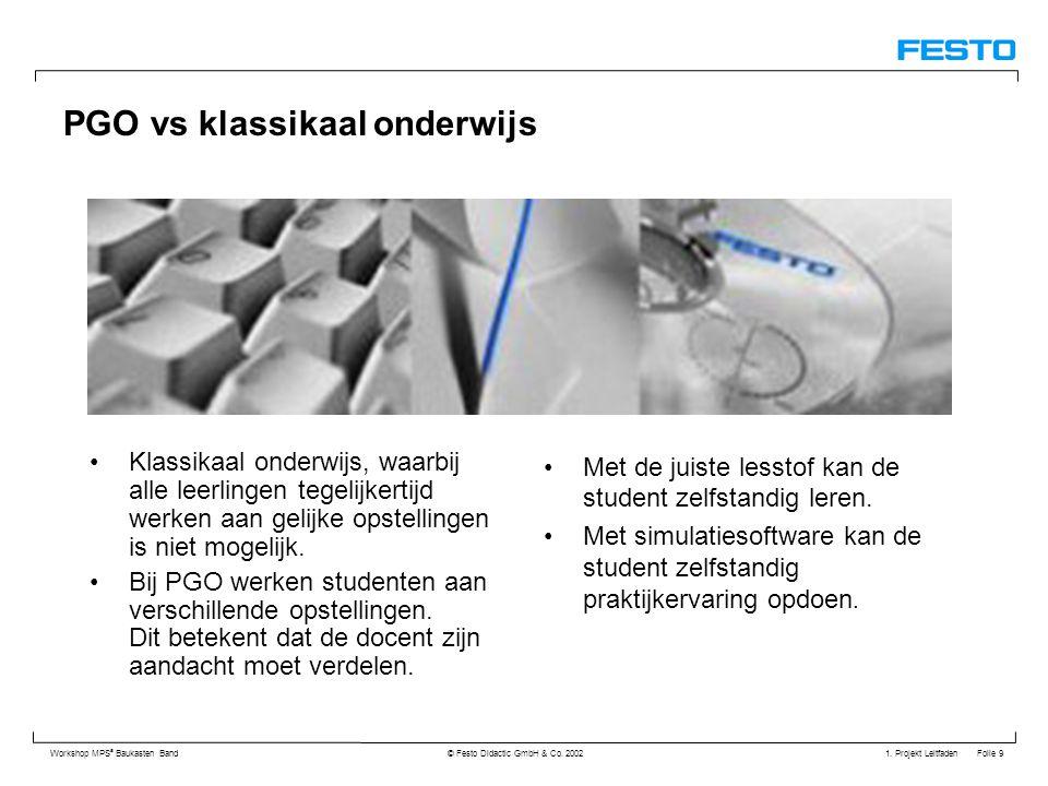 PGO vs klassikaal onderwijs