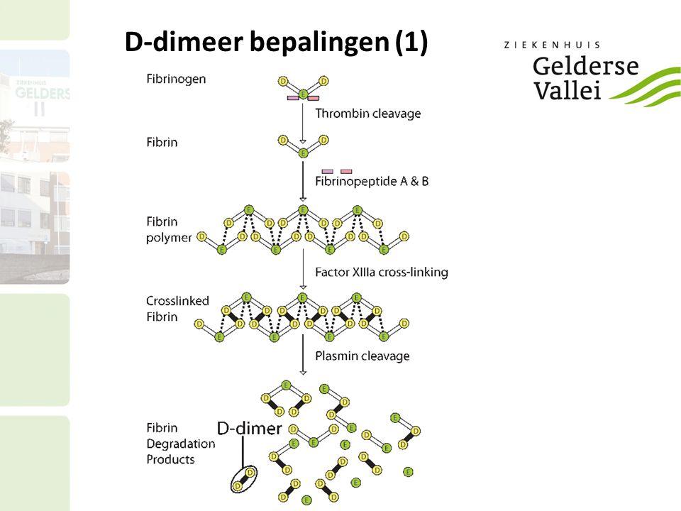 D-dimeer bepalingen (1)