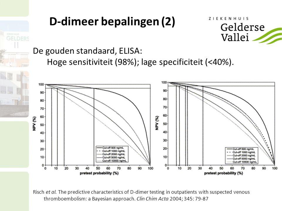 D-dimeer bepalingen (2)