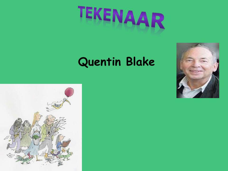 Tekenaar Quentin Blake