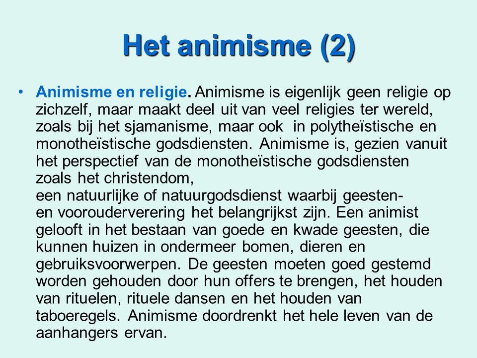 Het animisme (2)
